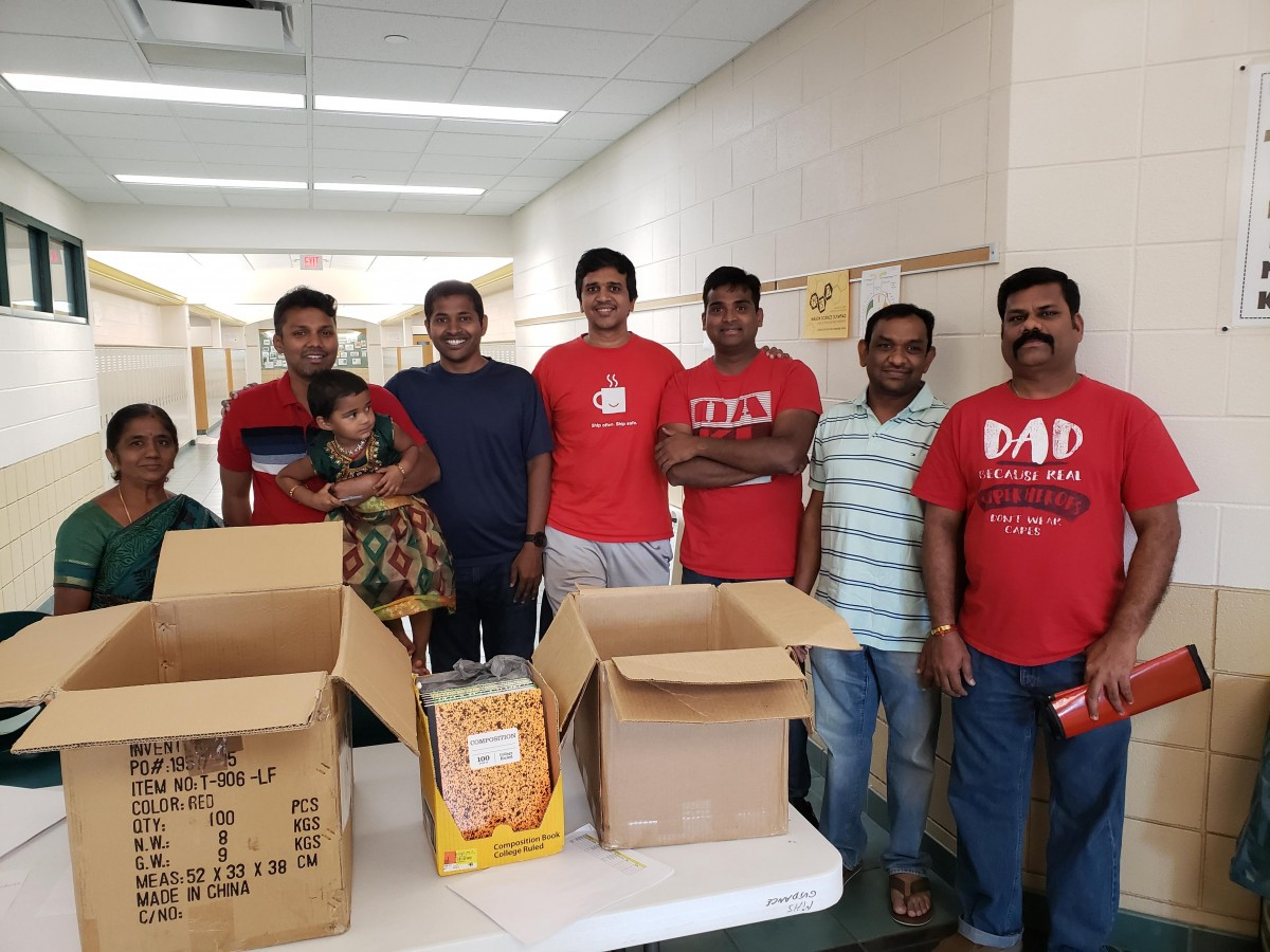 2018 - Hardworking GCTS Tamil school volunteers